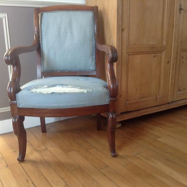 avant fauteuils époque restauration, restauration