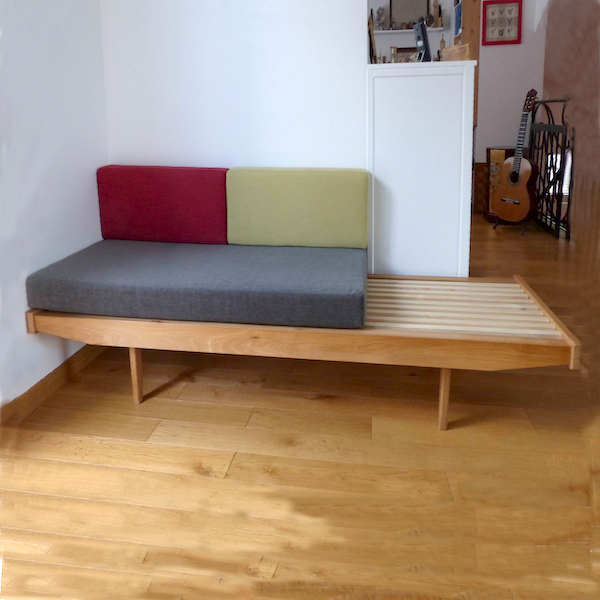 Banquette style Daybed de Charlotte Perriand
