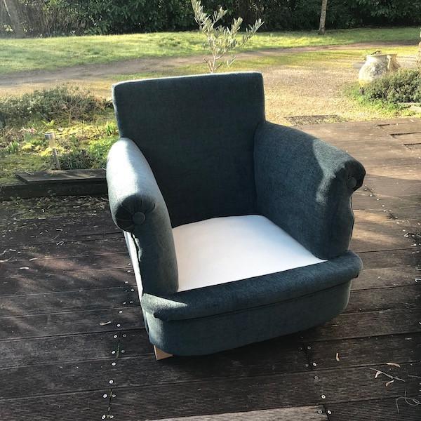 Ensemble fauteuils et pouf