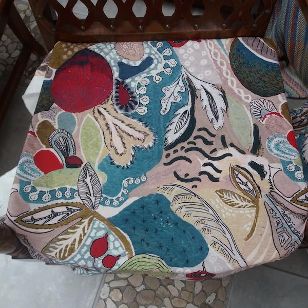 Coussins pour fauteuils, restauration