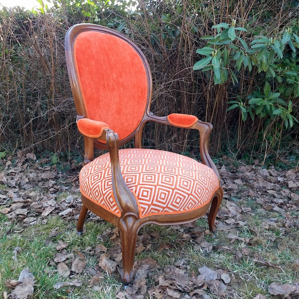 Fauteuils style Louis Philippe