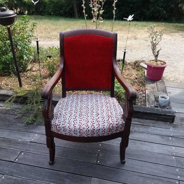 fauteuil epoque restauration, restauration