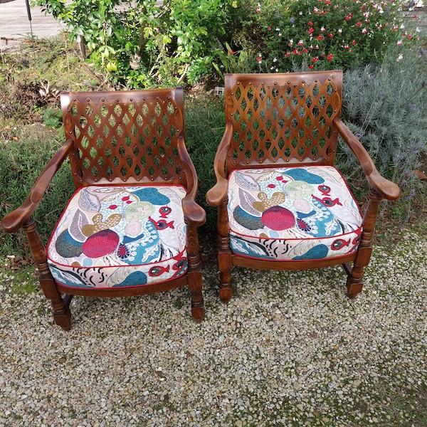 Coussins pour fauteuils
