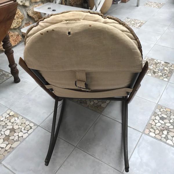 Rocking-chair Nonna, restauration